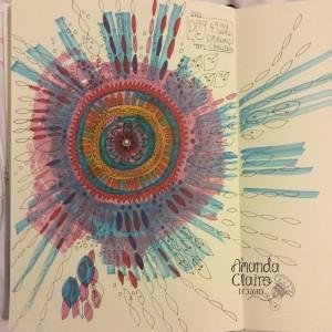 I just love drawing Mandalas