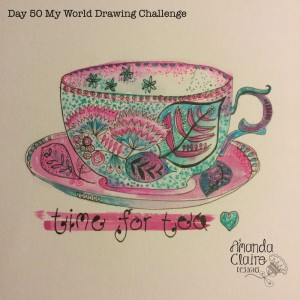 Day 50 My World Drawing Challenge