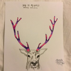 Day 70 My World Drawing Challenge