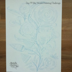 Day 99 My World Drawing Challenge