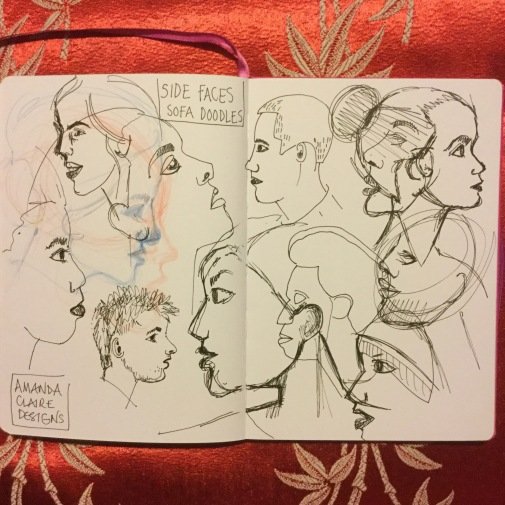 Practice side heads